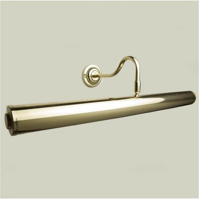 Classic 64cm Picture Light Polished Brass
