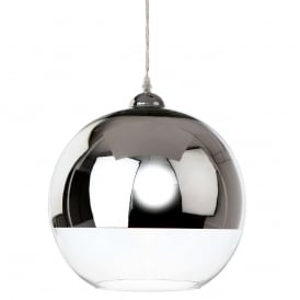 Club Modern Ceiling Pendant Light In Chrome Finish 5908CC