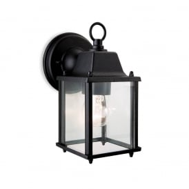 Coach Outdoor Wall Lantern In Black Finish IP23 8666BL