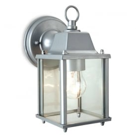 Coach Outdoor Wall Lantern In Silver Finish IP23 8666SIL