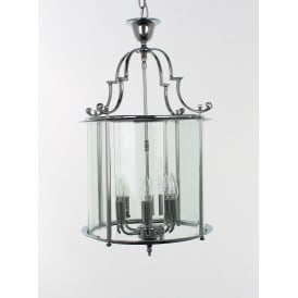 Colchester 6 Light Traditional Brass Hanging Lantern In A Choices Of Finishes LG07000/15