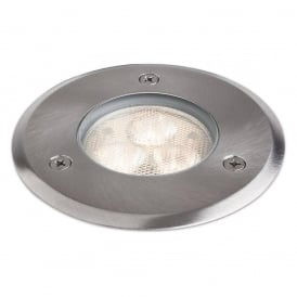 Contemporary Driveover / Walkover Light In Stainless Steel Finish IP67 2337