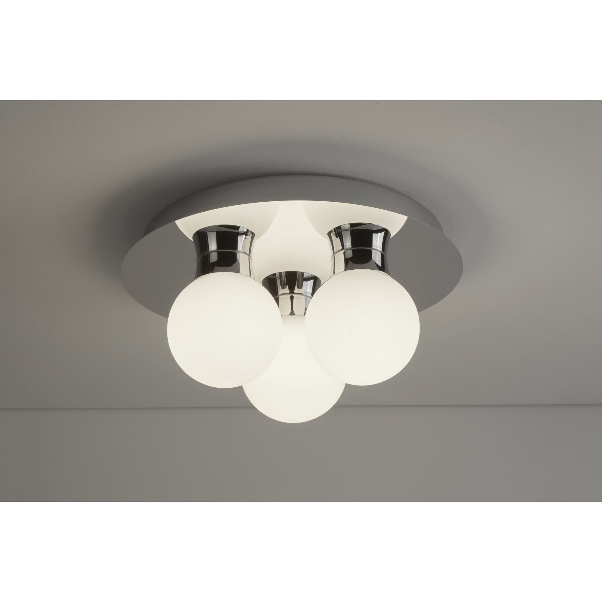 Thlc Contemporary Led Bathroom Ceiling Light In Polished Chrome Finish Ip44 Lighting From The Home Lighting Centre Uk