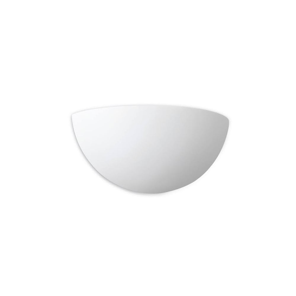 3e04c50e3df5 Firstlight Contemporary Plaster Semi Circle Wall Uplighter 4928 - Lighting  from The Home Lighting Centre UK