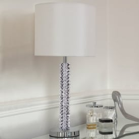 CORTESE Crystal Table Lamp With Shade