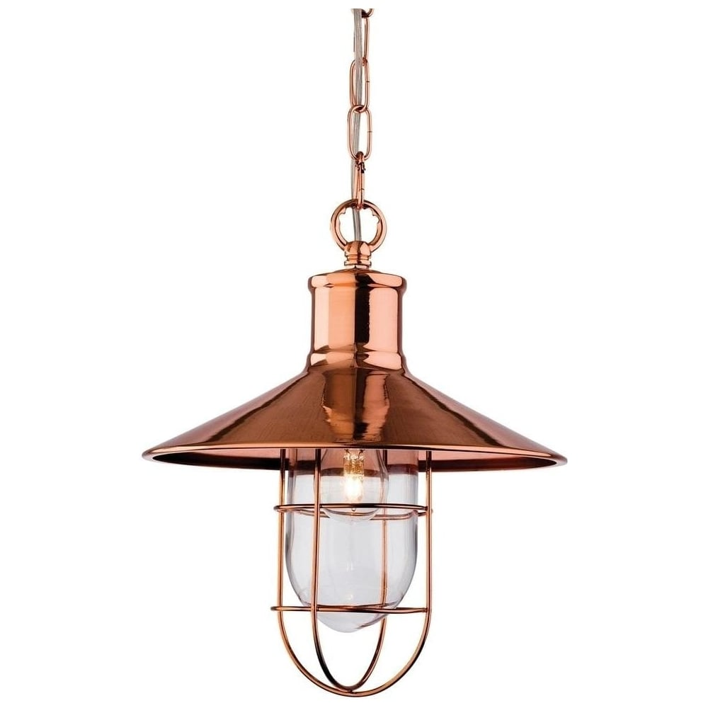 Ceiling Lights In Copper : Firstlight crescent light hanging ceiling lantern in