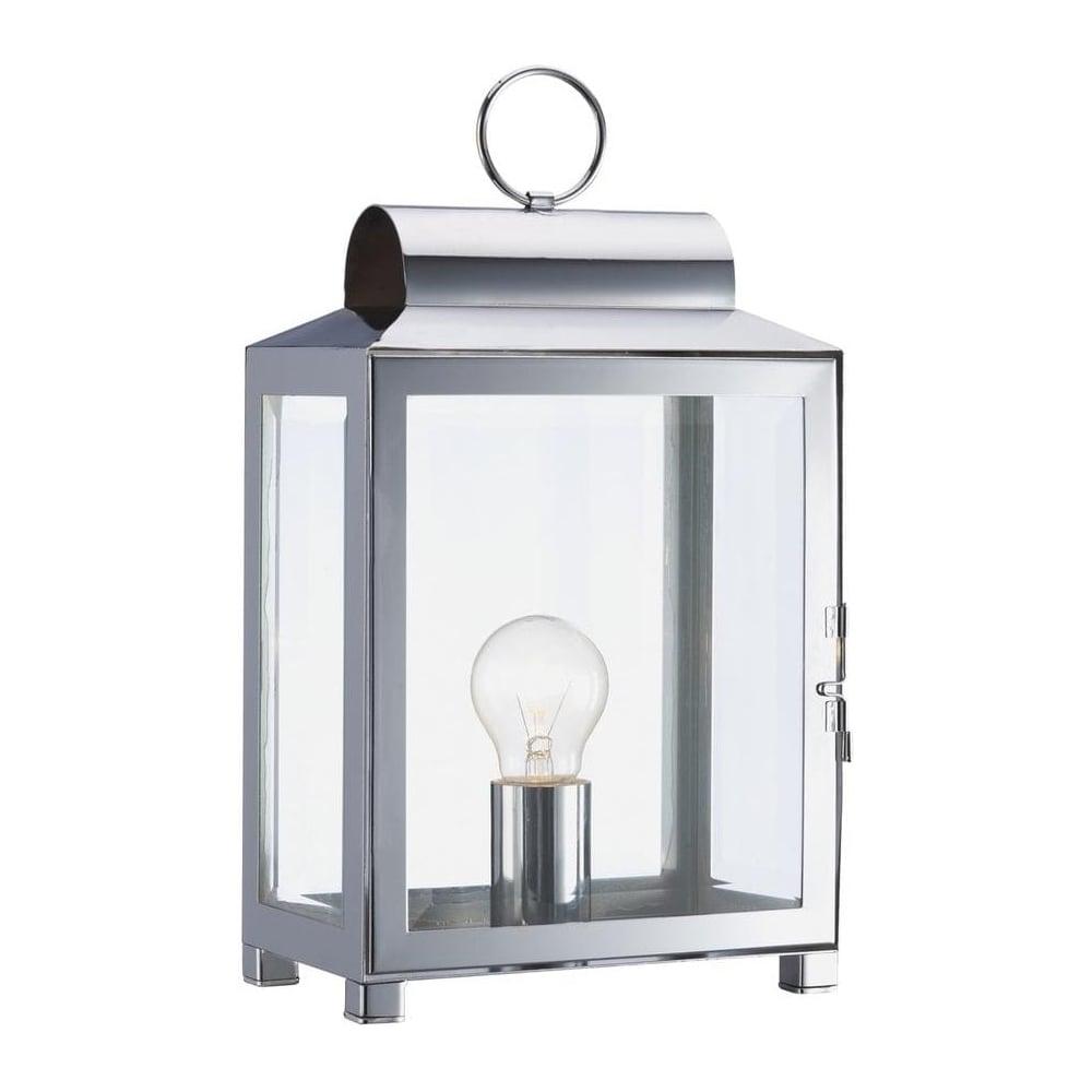 Dar lighting box polished chrome lantern traditional design table box polished chrome lantern traditional design table lamp box4250 aloadofball Choice Image