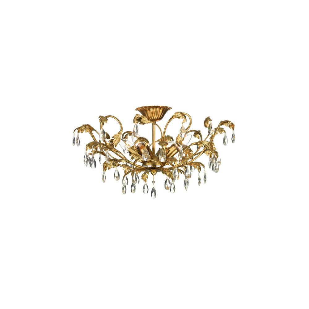 Dar lighting cha5063 charleston flush ceiling light in antique gold cha5063 charleston flush ceiling light in antique gold aloadofball Gallery