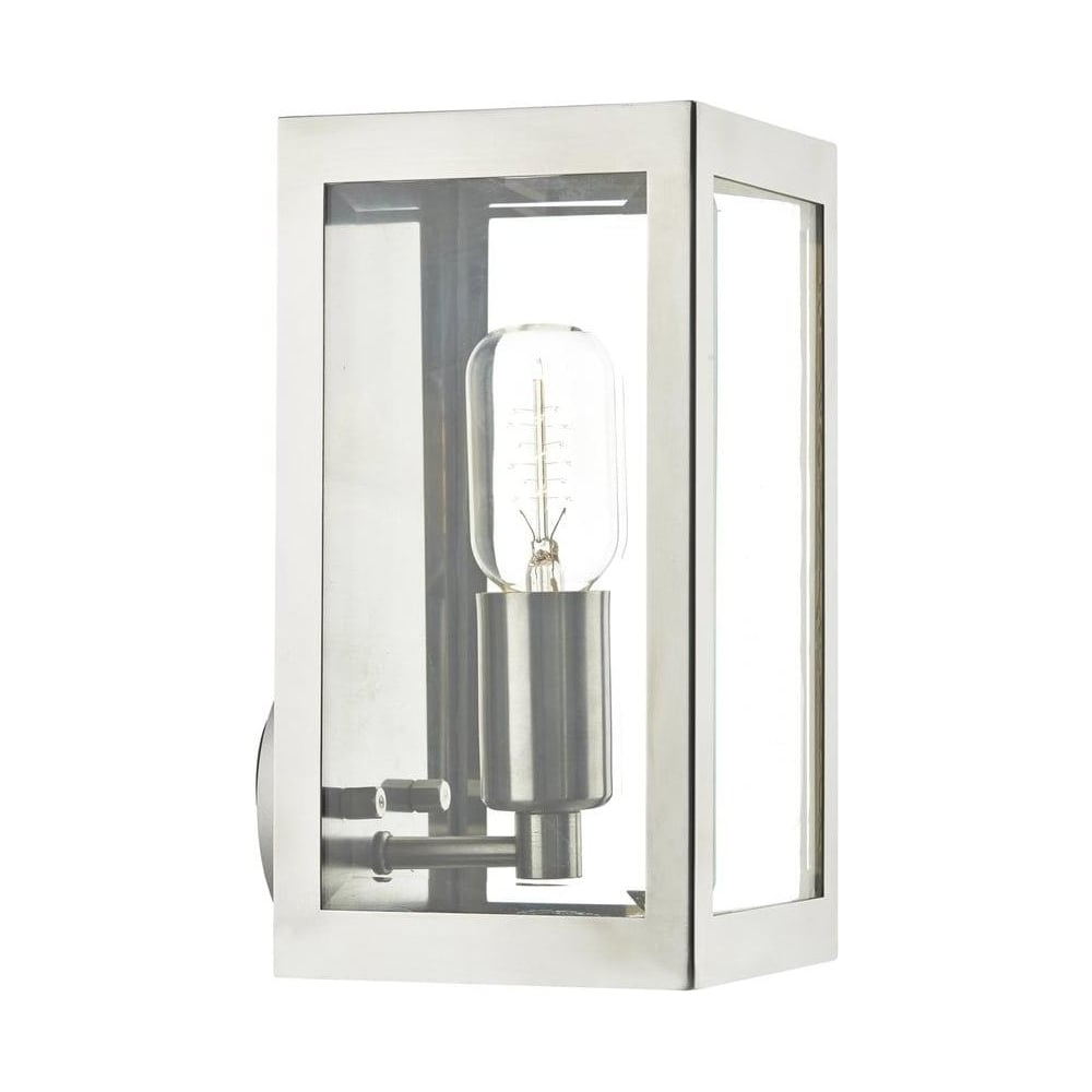 Era 1 Light Modern Stainless Steel Outdoor Wall Light   ERA0744Dar Lighting Era 1 Light Modern Stainless Steel Outdoor Wall Light  . Contemporary Exterior Wall Lights Uk. Home Design Ideas