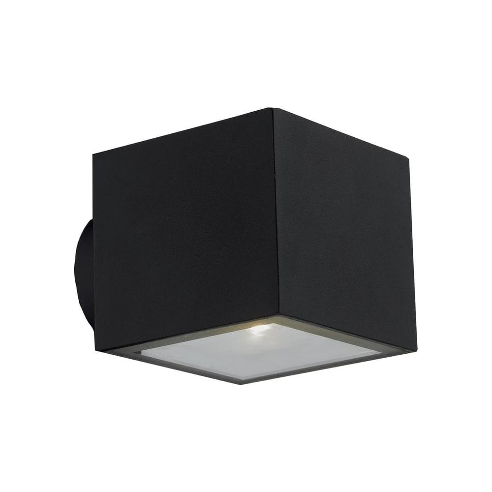 Dar lighting exm2122 exmoor modern 2 light led matt black aluminium exm2122 exmoor modern 2 light led matt black aluminium exterior wall light audiocablefo