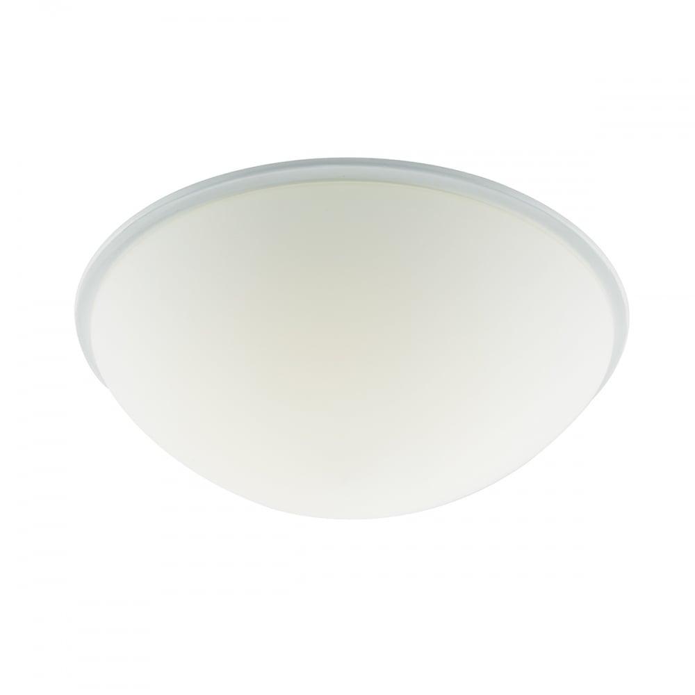 Led Bathroom Centre Light dar lighting noah led bathroom opal white glass flush ceiling