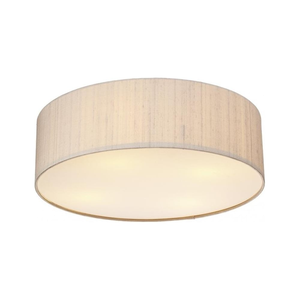 Lovely Paolo LED Taupe Flush Ceiling Light PAO5001/LED