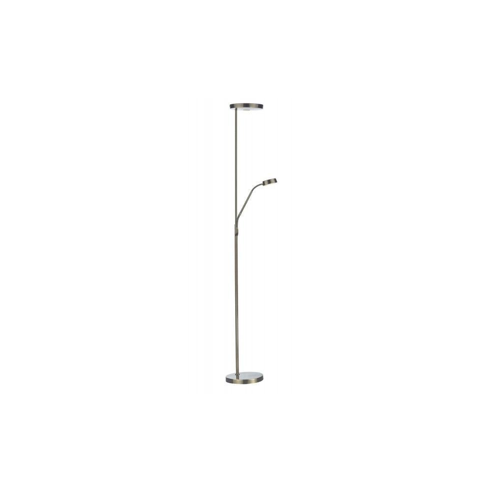Dar lighting pioneer led mother and child floor lamp antique brass pioneer led mother and child floor lamp antique brass pio4975 aloadofball Gallery