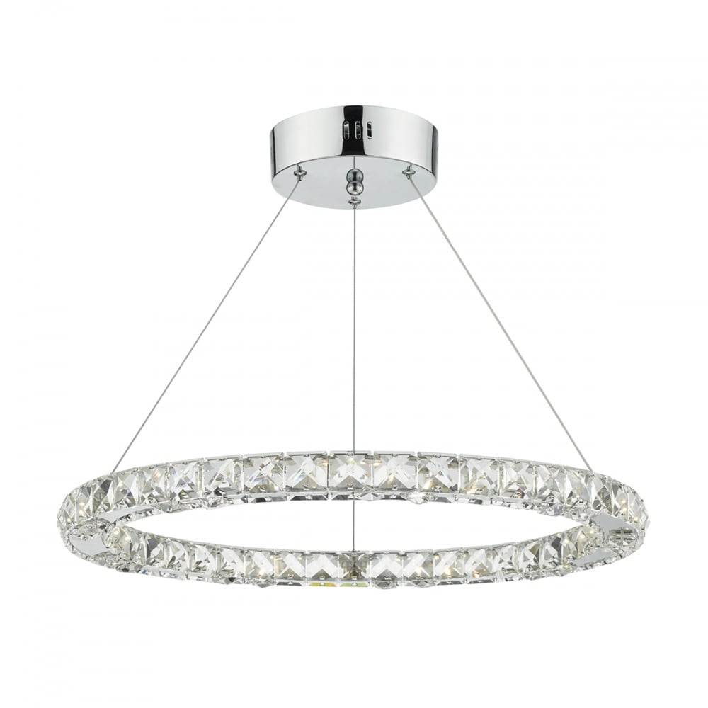led pendant lighting. Roma LED Ceiling Pendant Light With Faceted Crystal Squares ROM1750 Led Lighting