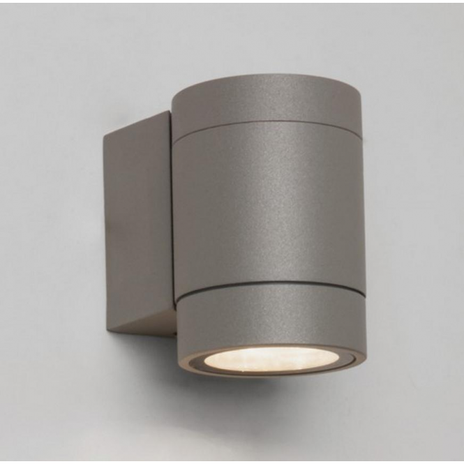 Astro Lighting Dartmouth Single Outdoor Wall Light in Painted Silver Finish 7582