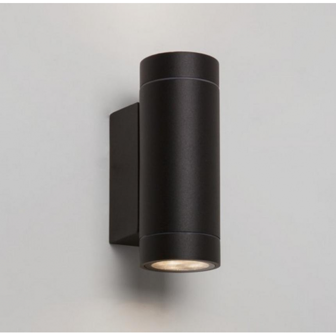 Astro Lighting Dartmouth Twin Outdoor Wall Light in Black Finish 7586