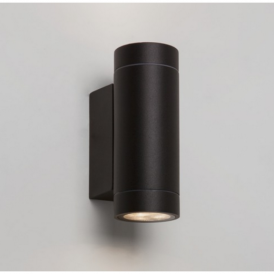 Dartmouth Twin Outdoor Wall Light in Black Finish 7586