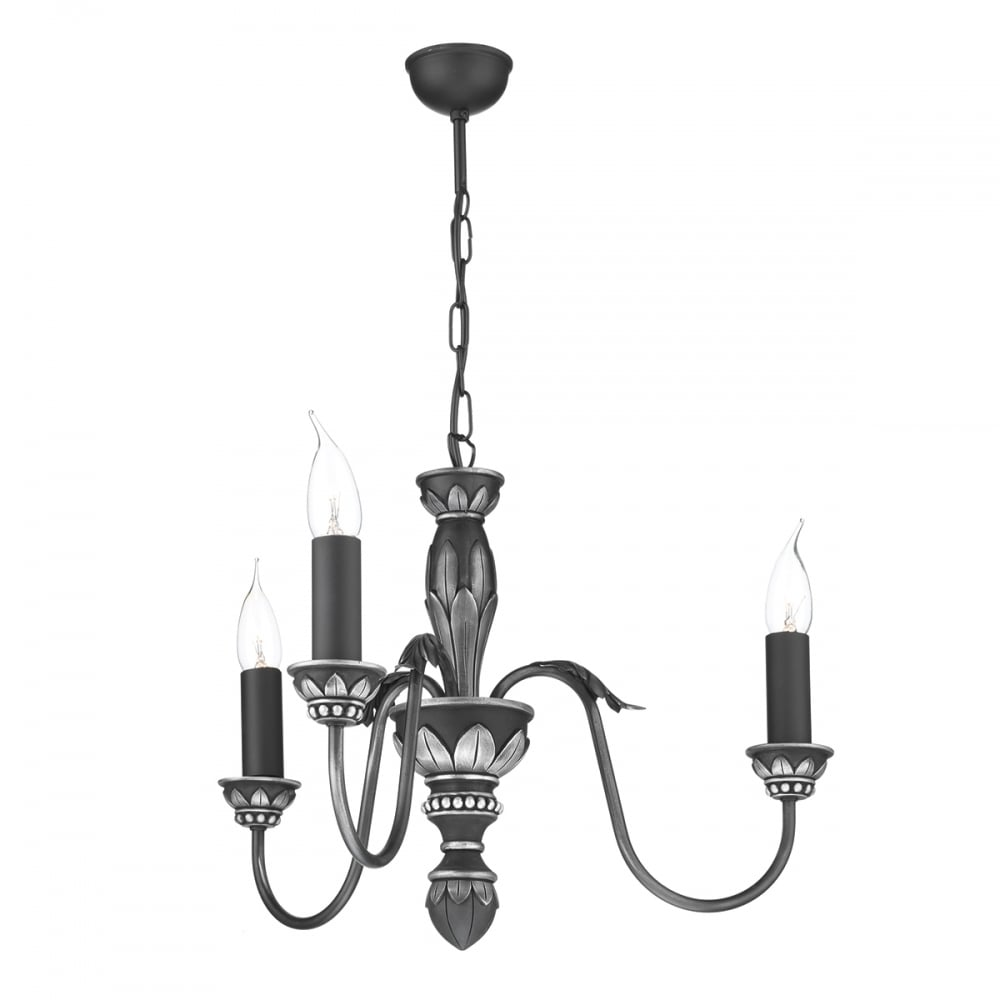 David hunt lighting oxford classic 3 light chandelier in antique oxford classic 3 light chandelier in antique pewter finish ox3 aloadofball Images