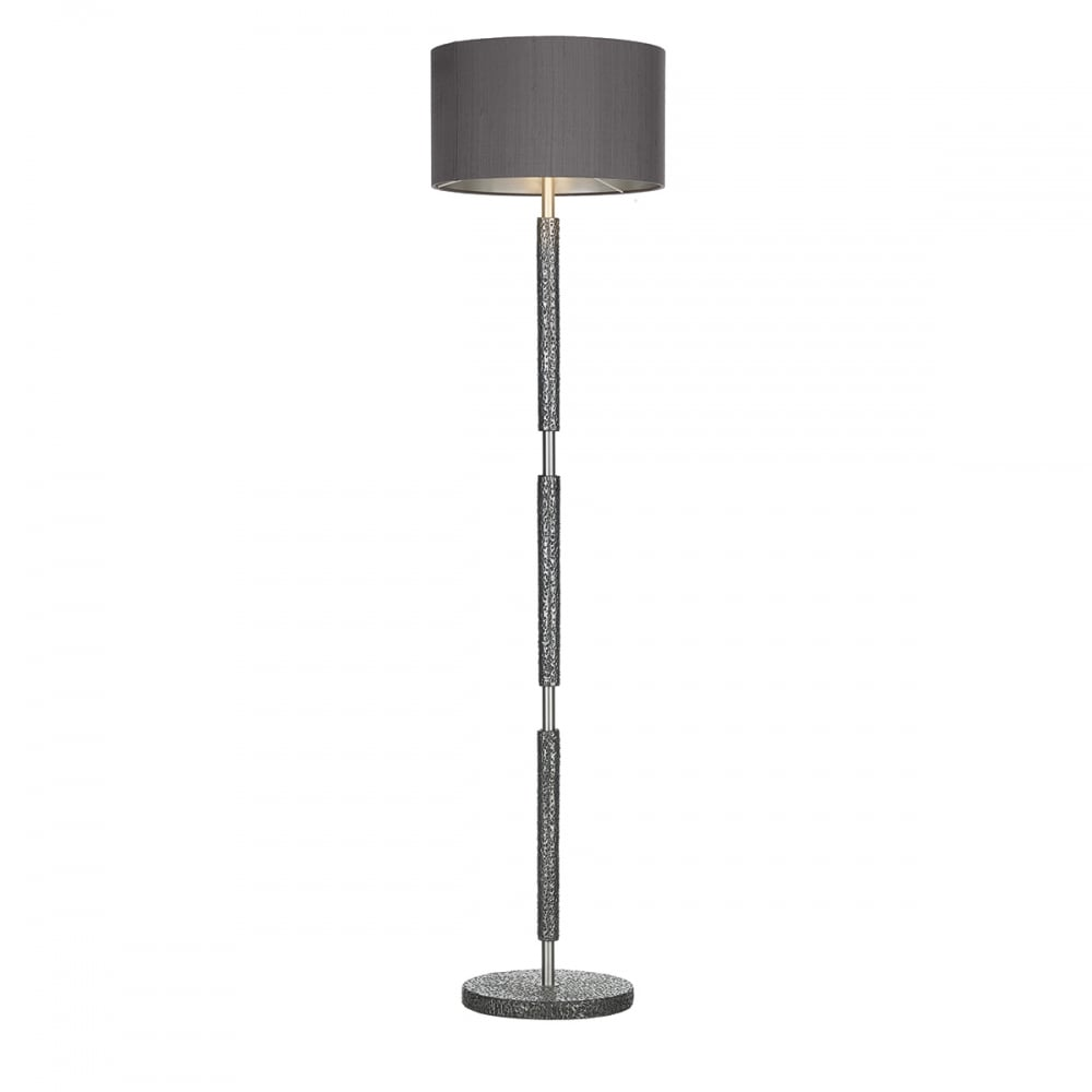David hunt lighting sloane stylish floor lamp base in pewter finish sloane stylish floor lamp base in pewter finish slo4967 mozeypictures Choice Image