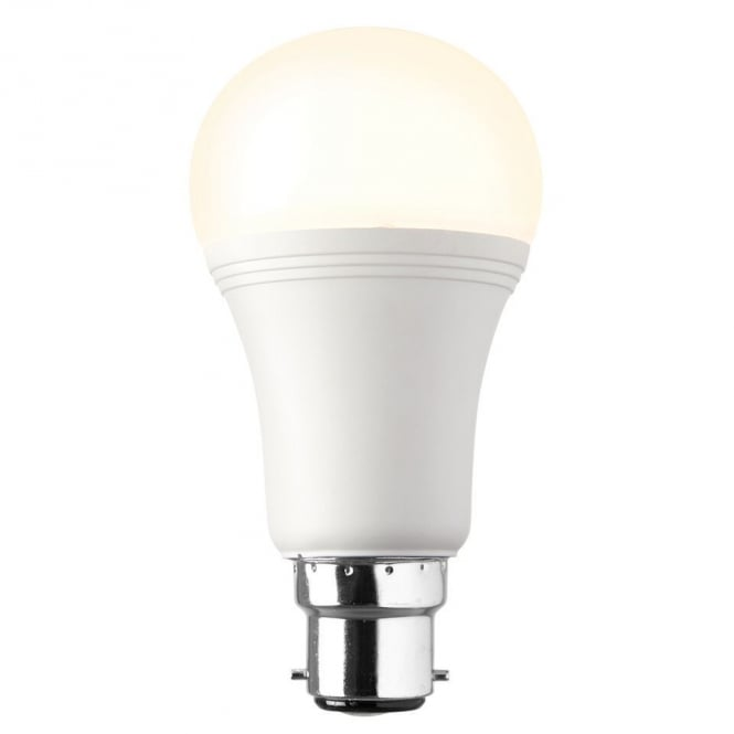 Saxby Lighting Dimmable BC OpaL LED GLS Lamp 12.3 Watt Warm White 69014