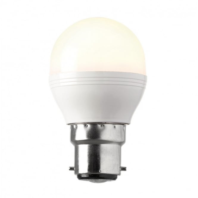 Saxby Lighting Dimmable BC Opal LED Golfball 6.2 Watt 69010