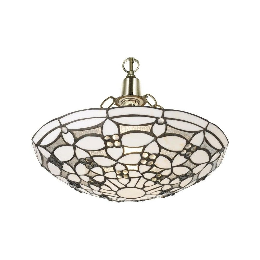 Uplighter ceiling light shades hbm blog 1648 fleur de lis tiffany semi flush uplighter ceiling light aloadofball Images