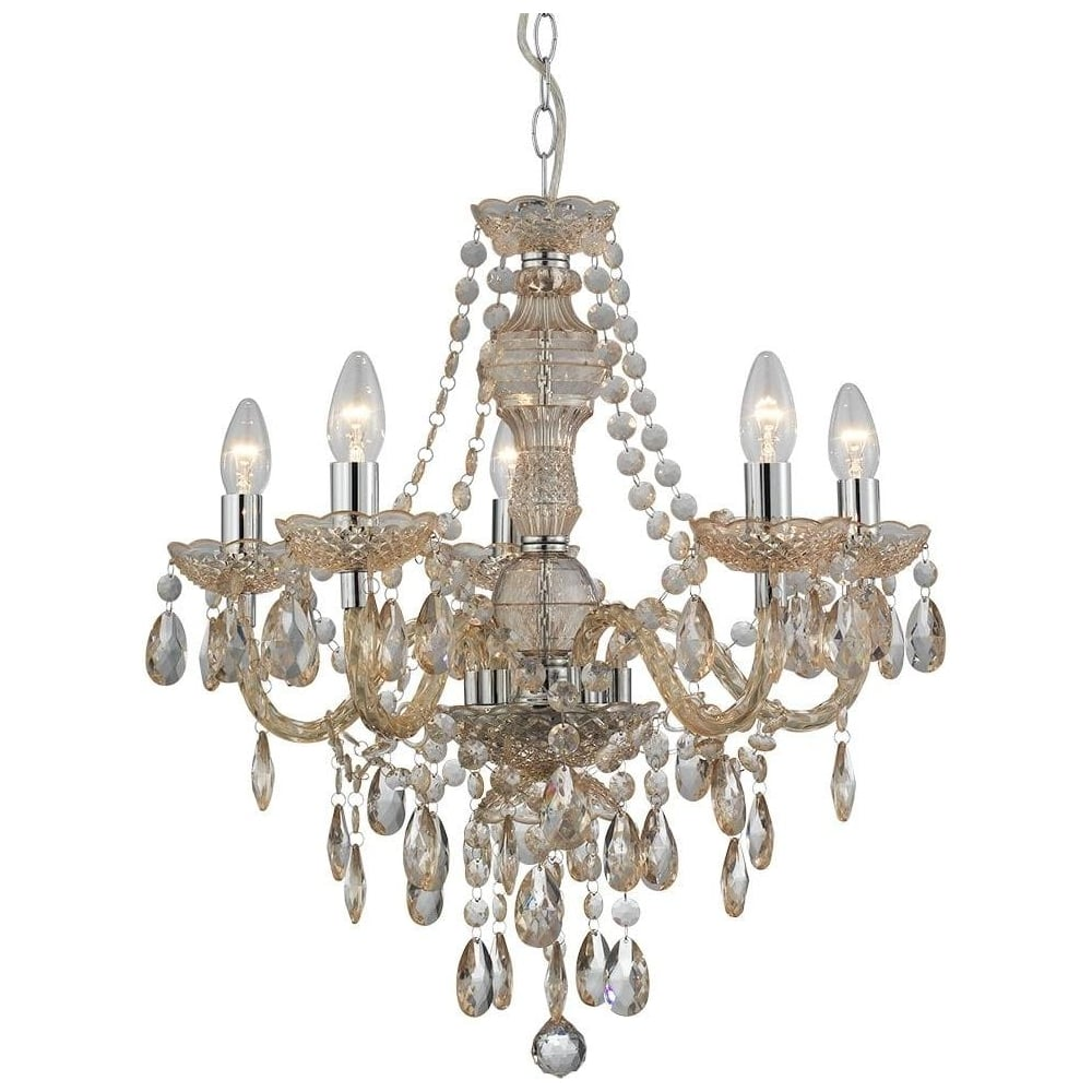 8885 5mi marie therese 5 light mink coloured chandelier lighting 8885 5mi marie therese 5 light mink coloured chandelier aloadofball Image collections