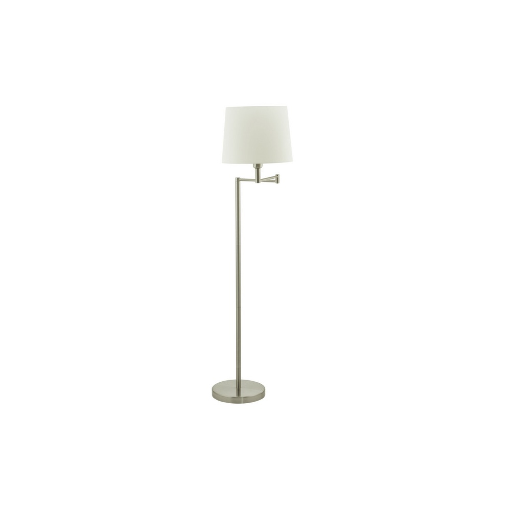 89458 santander 1 light swing arm floor lamp in matt nickel 89458 santander 1 light swing arm floor lamp in matt nickel aloadofball Images