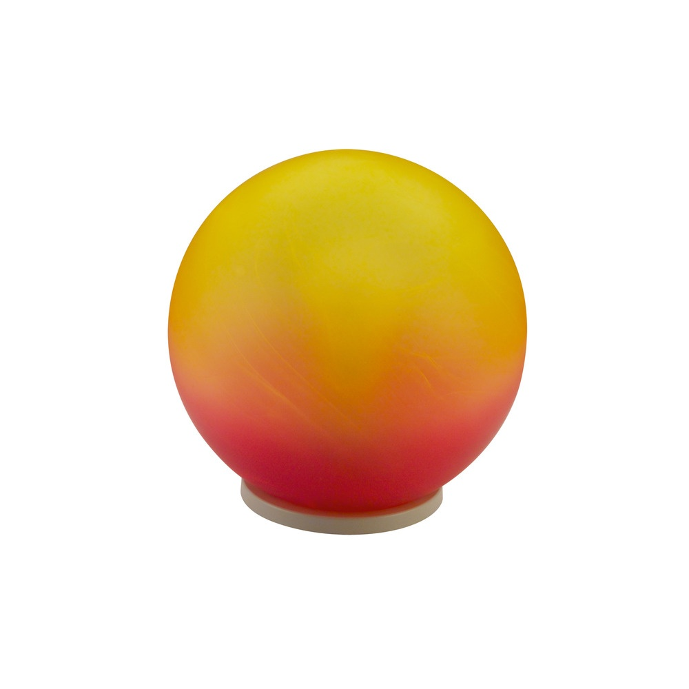 90205 Milagro 1 Light Small Red And Orange Globe Table Lamp