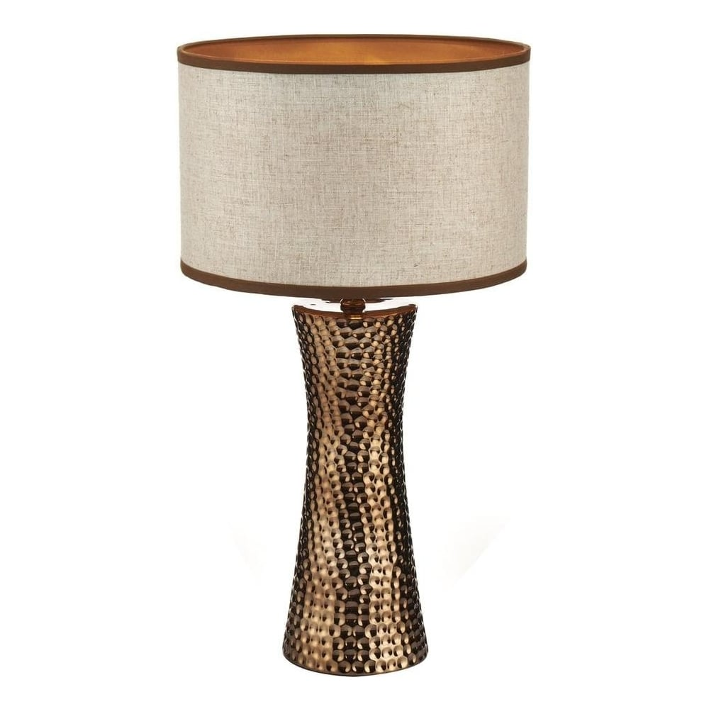 Bok4263x bokara 1 light modern hammered bronze table lamp with bok4263x bokara 1 light modern hammered bronze table lamp with natural shade mozeypictures Image collections