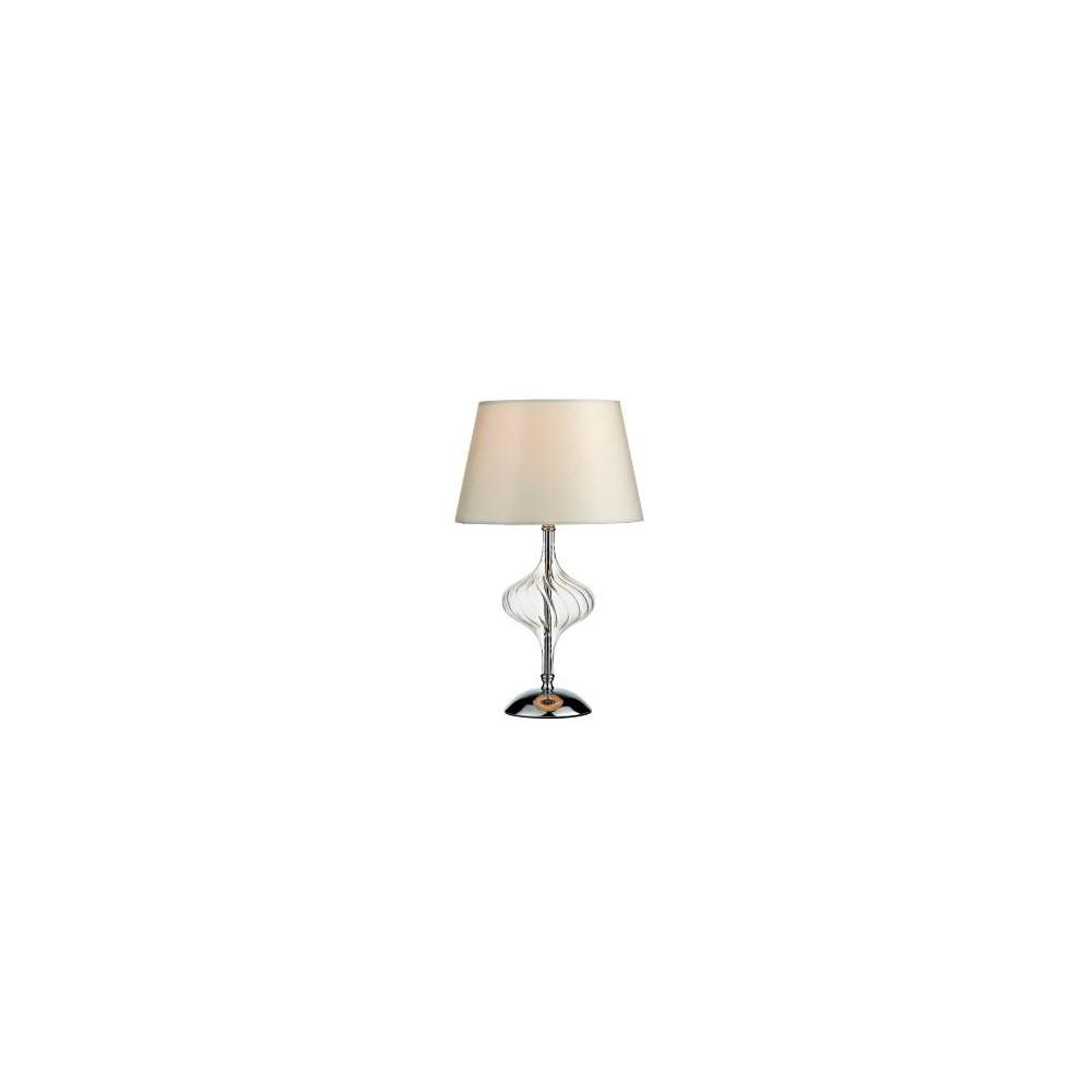Bol4208 boleyn polished chrome touch table lamp with shade bol4208 boleyn polished chrome touch table lamp with shade aloadofball Images