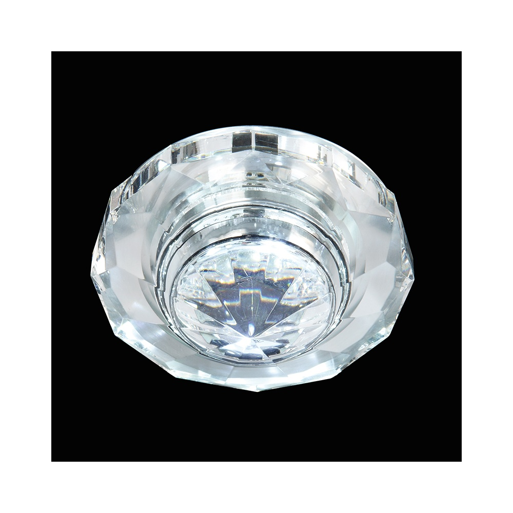 EL IP 6000 CRY Enluce Crystal LED Shower Light IP65