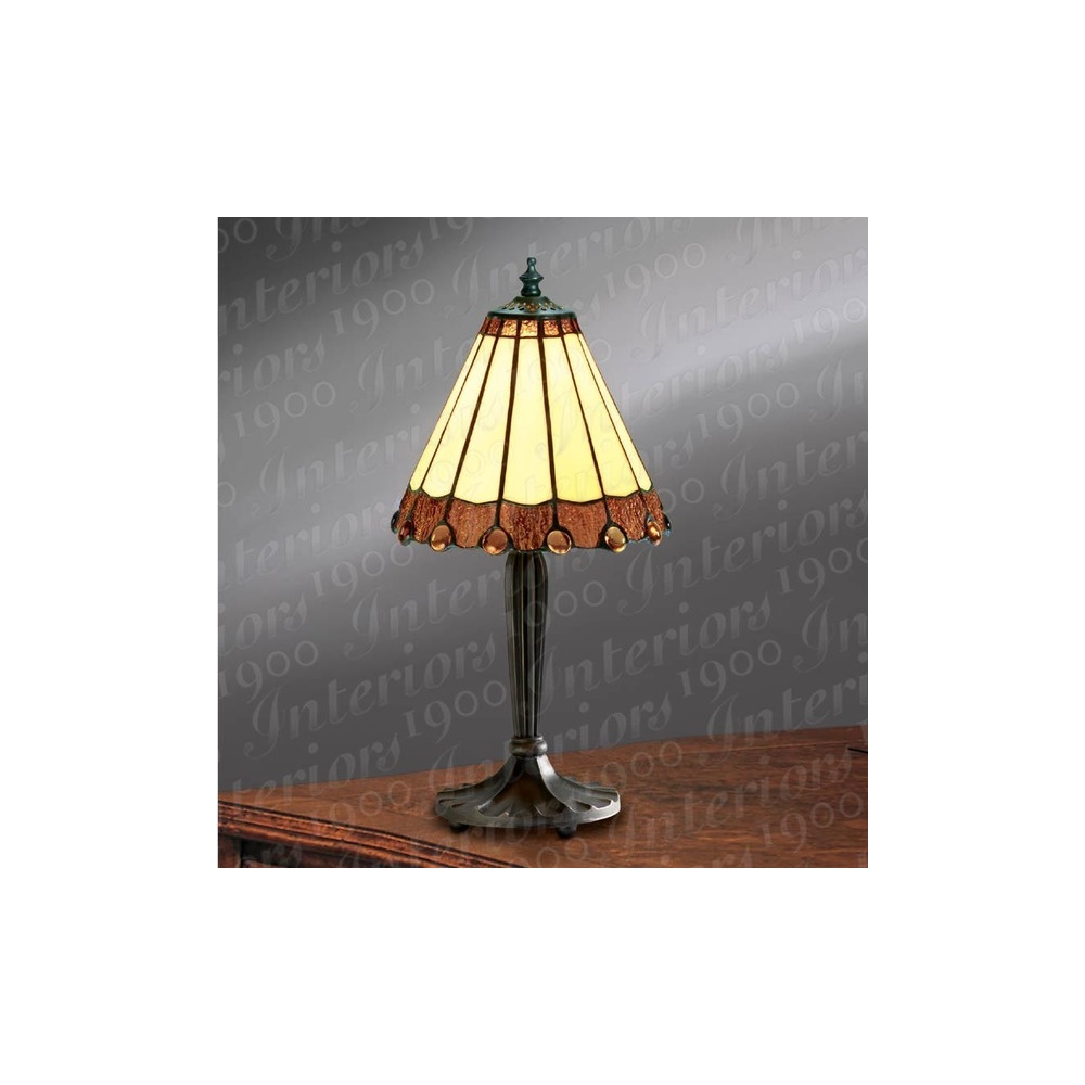 Knox RB621S and TM1SHS Small Tiffany Table Lamp - Lighting from ...