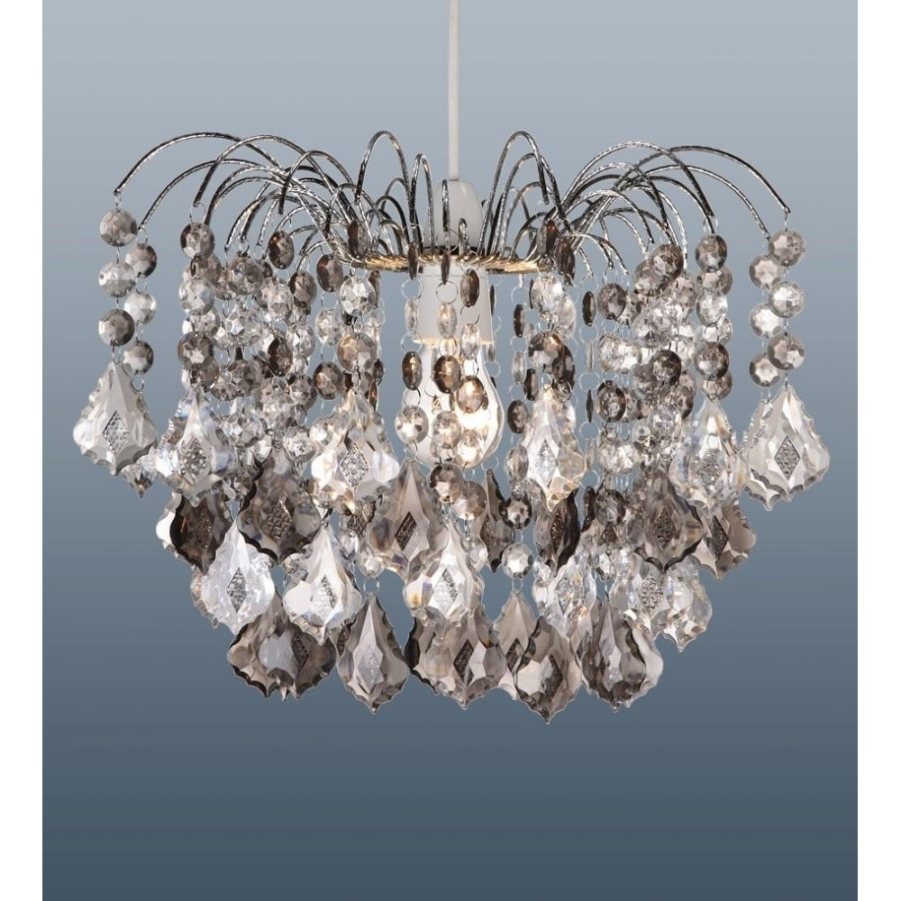 pendant light satin chrome in image dar ambassador chandelier lighting