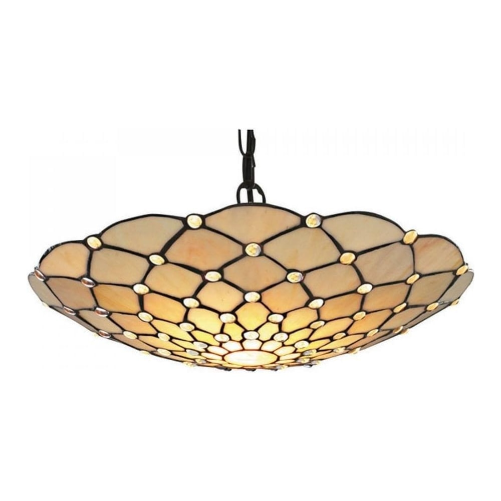 inverted mega image pendant lamps lighting large with glass light shade ceilings extra era ceiling shop by collection floral pattern uplighter tiffany kensington anderson stained