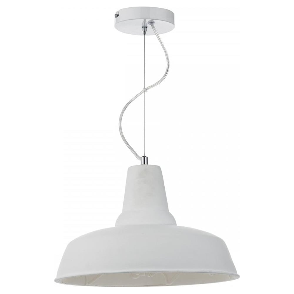 Susannah modern white retro ceiling pendant light sus012 lighting susannah modern white retro ceiling pendant light sus012 mozeypictures Gallery