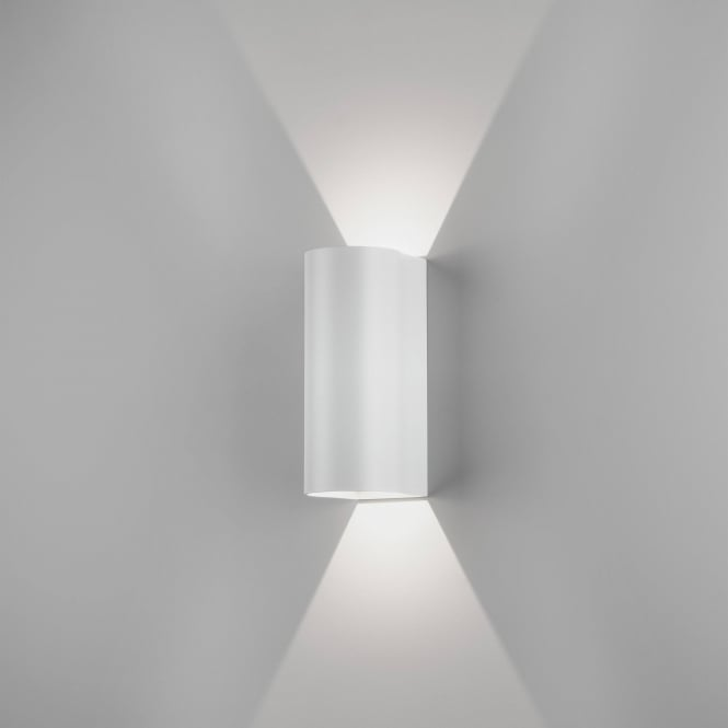 Astro Lighting Dunbar LED 255 Contemporary Outdoor Wall Light In White Finish 7994