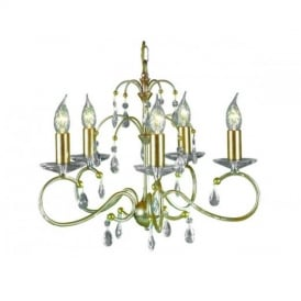 DY5 Silver/Gold Darcy Ceiling Pendant