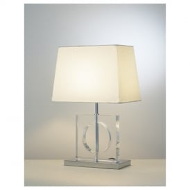 ECO4050 Eco Glass Square Table Lamp
