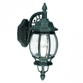 4175 Outdoor Classic Hanging Wall Lantern In Black Green