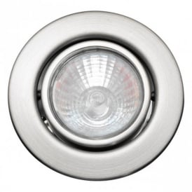 5460 Einbauspot 12V 3 Light Set of Nickel Recessed Light