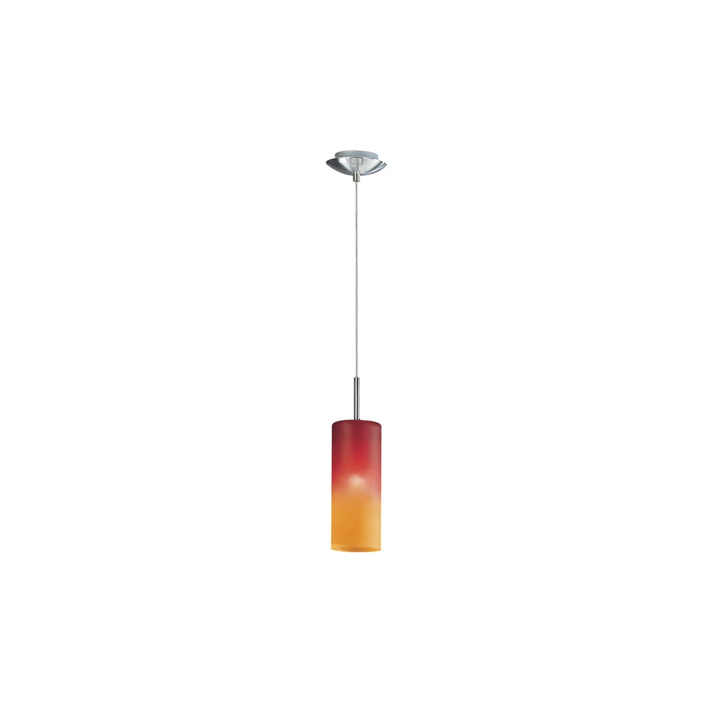 Eglo Lighting 83202 Troy1 1 Light Red And Orange Ceiling