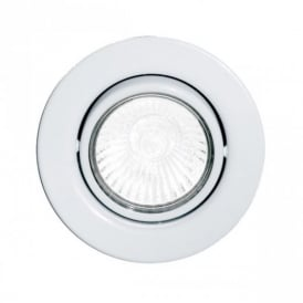 87377 Einbauspot GU10 1 Light White Recessed Light