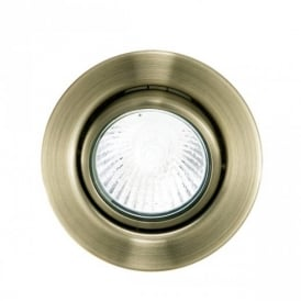 87380 Einbauspot GU10 Bronze Recessed Light 3 Unit Set