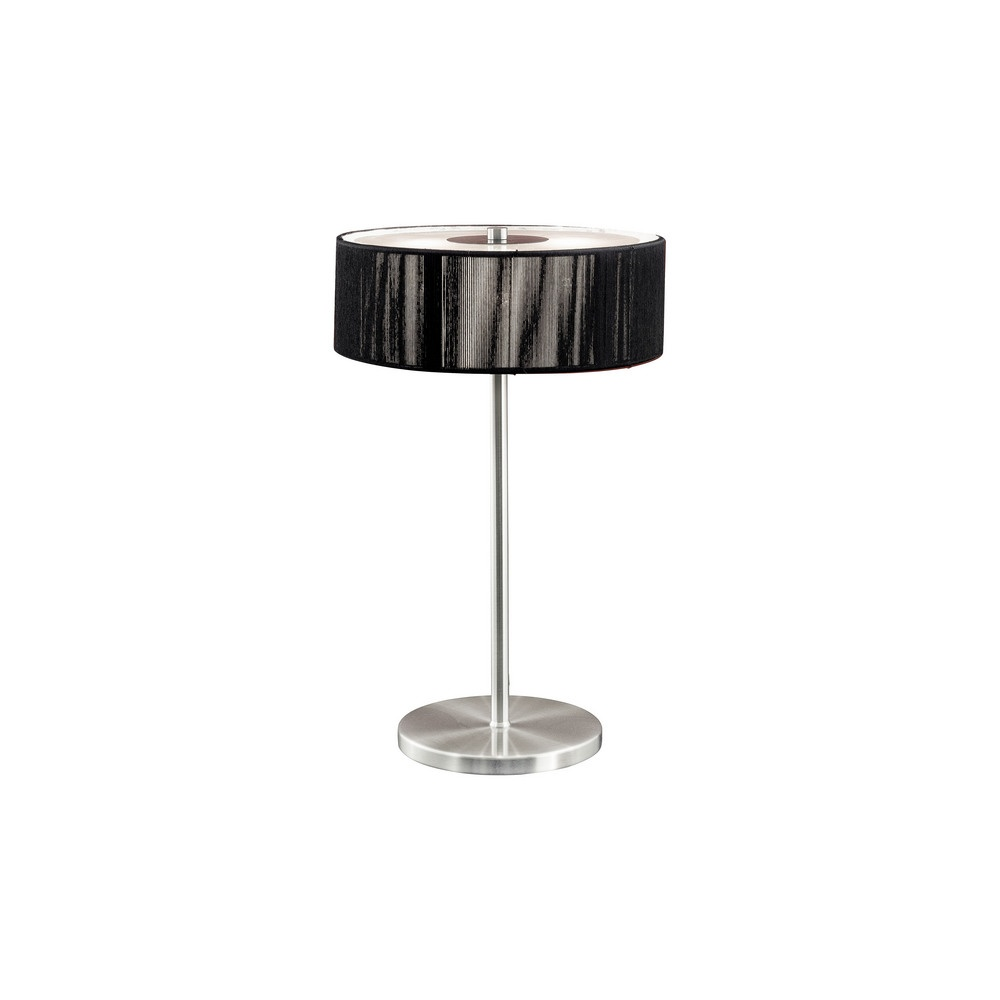 Eglo lighting 87626 monique table lamp 3 light with a for 100 watt table lamps uk