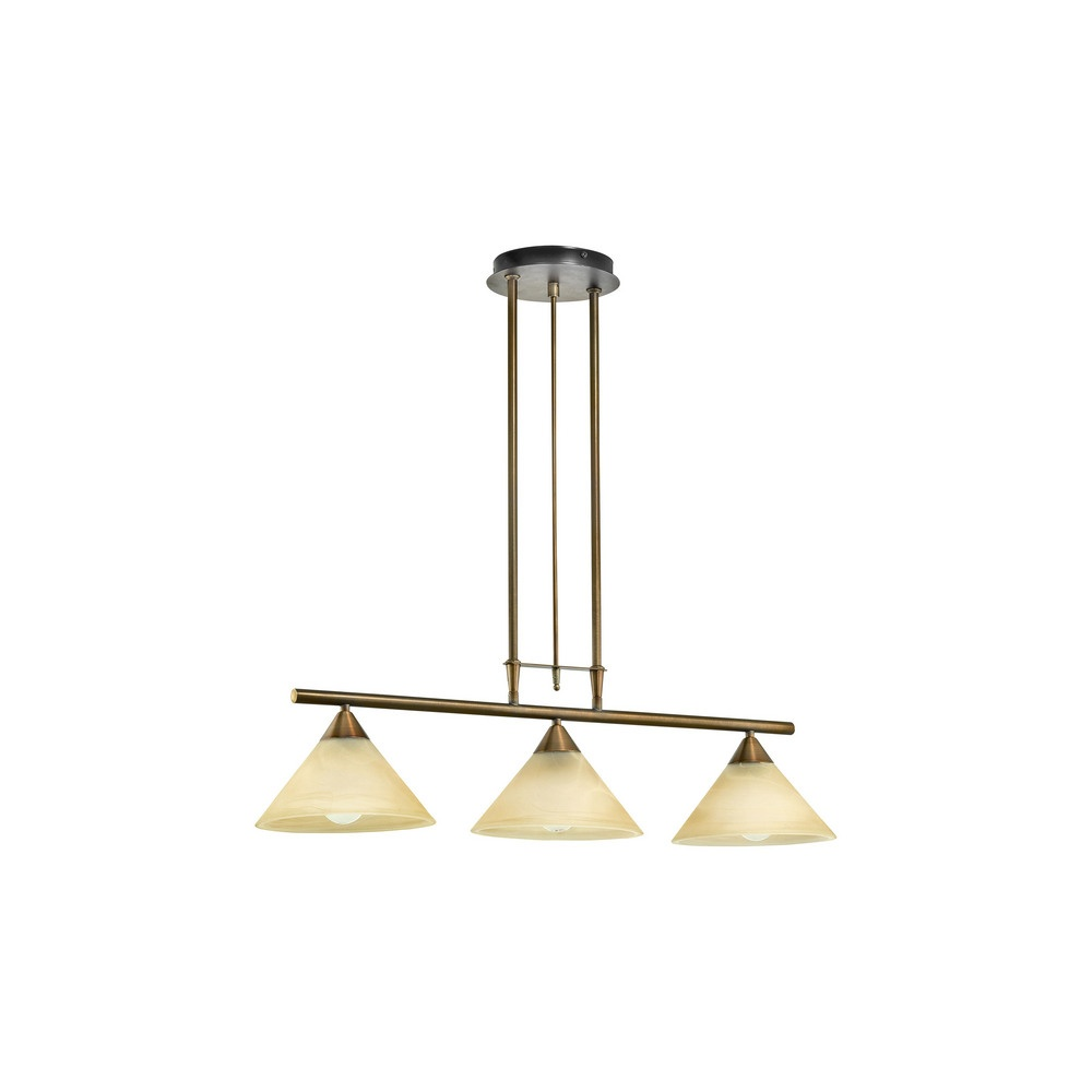 89649 madai 3 light rise and fall ceiling pendant