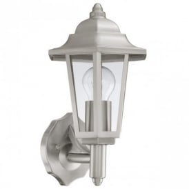 92151 Cerva Classic Stainless Steel Wall Lantern