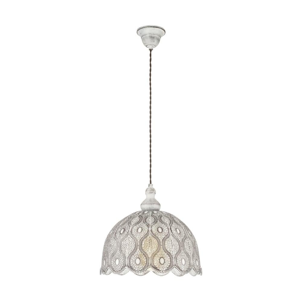 unique home lighting. Talbot 2 Unique Ceiling Pendant Light In Antique White Finish 49717 Home Lighting