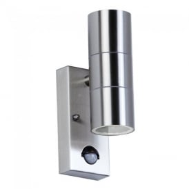 EL-40062 Outdoor Stainless Steel Sensor Double Wall Light