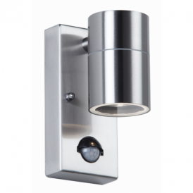 EL-40063 Outdoor Stainless Steel Sensor Single Wall Light